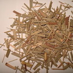 Lemon grass dried