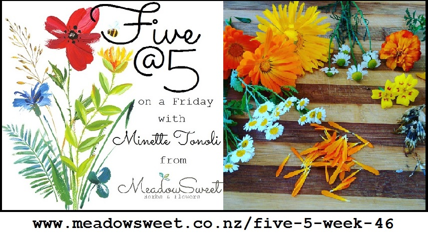 Five @ 5: Week 46